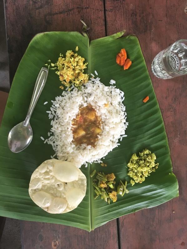 Banan leaf lunch
