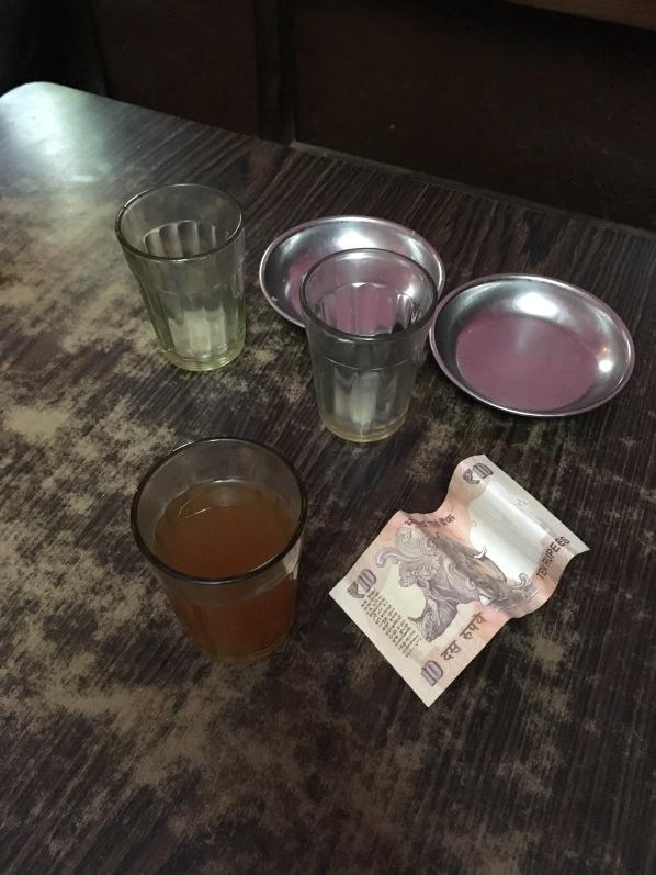 Chai and rupee