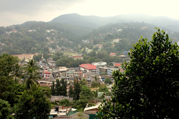Kandy from above