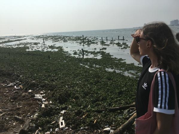 Rubbish at Fort Kochi with Gabs